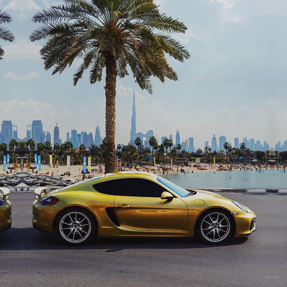 Porsche GTS makes every hour a golden hour.