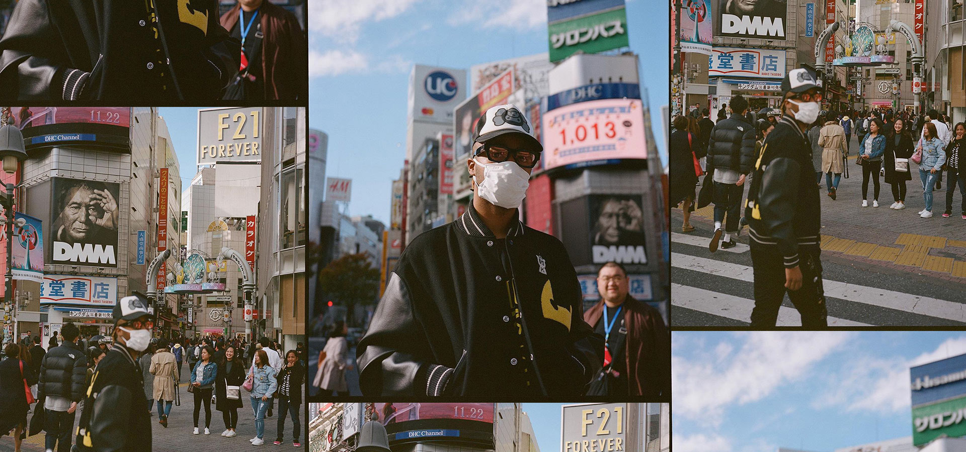 Suddenly Metro Boomin appears Tokyo driftin' & wantin' sum more at 渋谷区 Street.