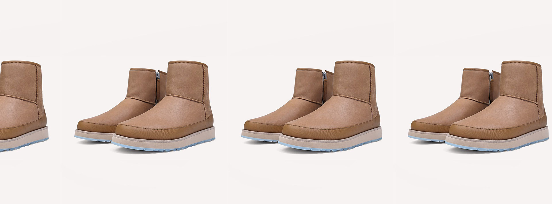 OVADIA x UGG show that is always season to reimagine iconic silhouettes in premium leather.