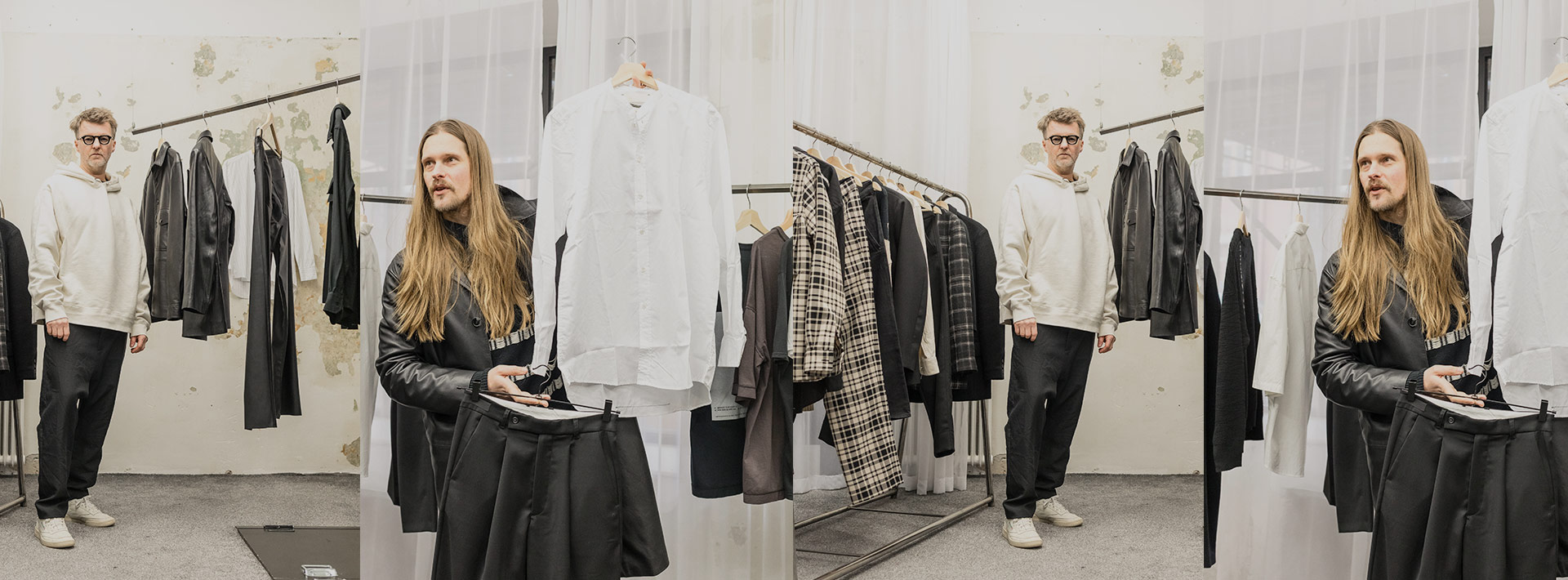 """""""We're always gonna be more about design than the flashy things."""" Stockholm's Adnym Atelier creates genderless long-term products w/ long-term choices."""