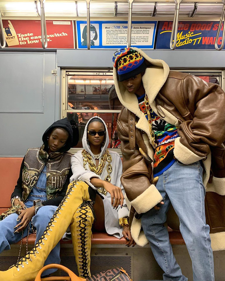 MIND THE GAP: Alton Mason, Mayowa Nicholas & Imari Karanja are proving that the best of NYC' street style comes from underground.