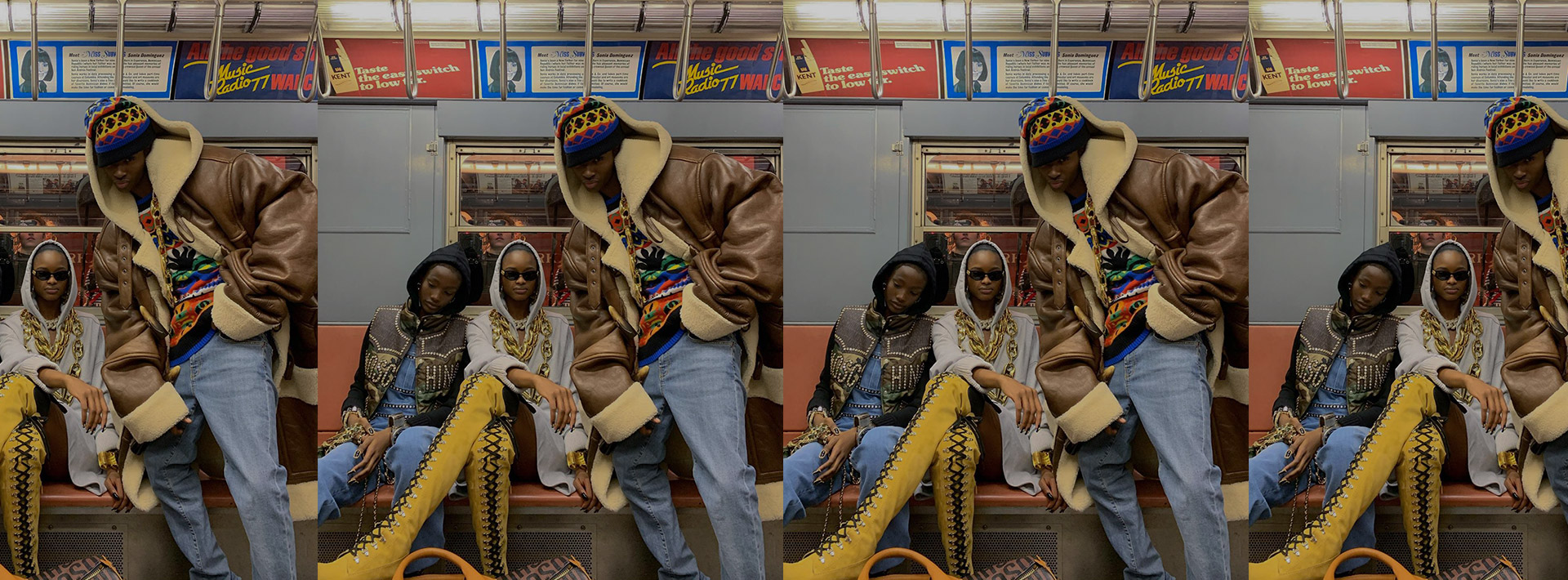 MIND THE GAP: Alton Mason, Mayowa Nicholas & Imari Karanja are proving that the best of NYC' street style comes from underground.