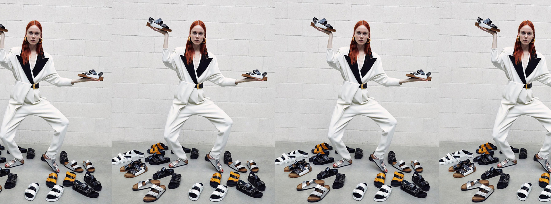 Proenza Schouler x Birkenstock collab is going to be out on March 20th: now you can def drip your leather sandals game.