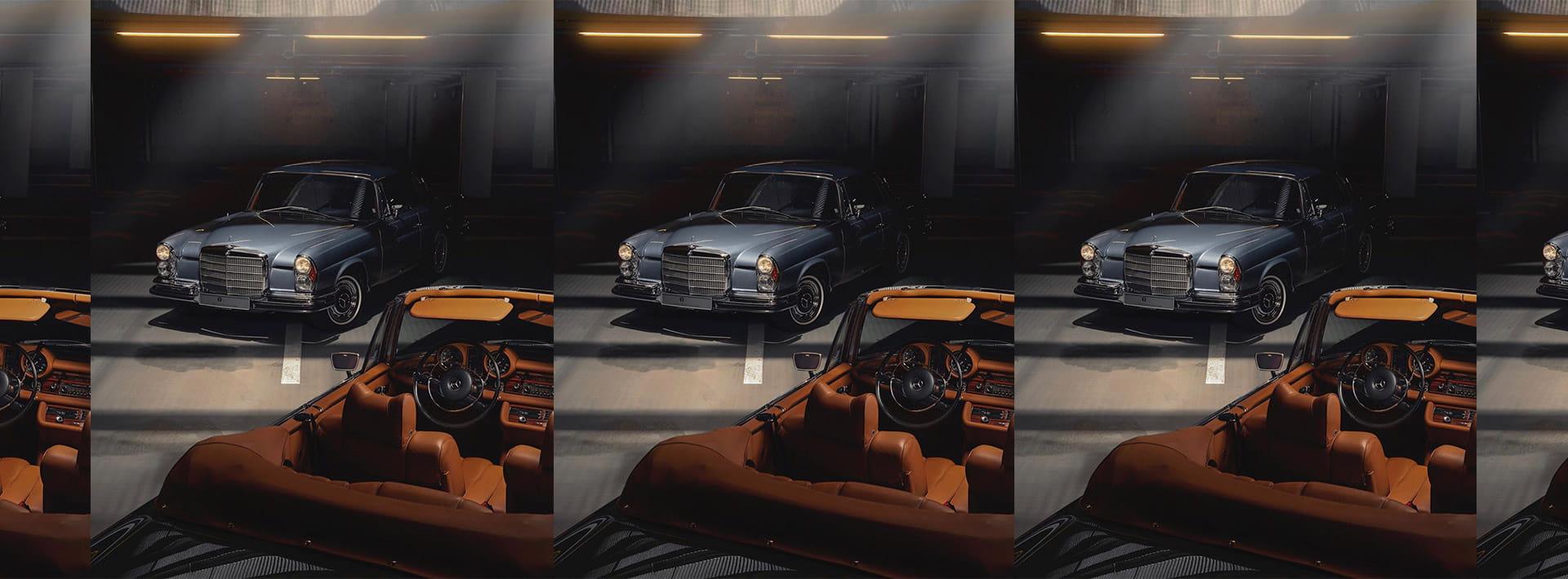 Mercedes-Benz timeless classics.