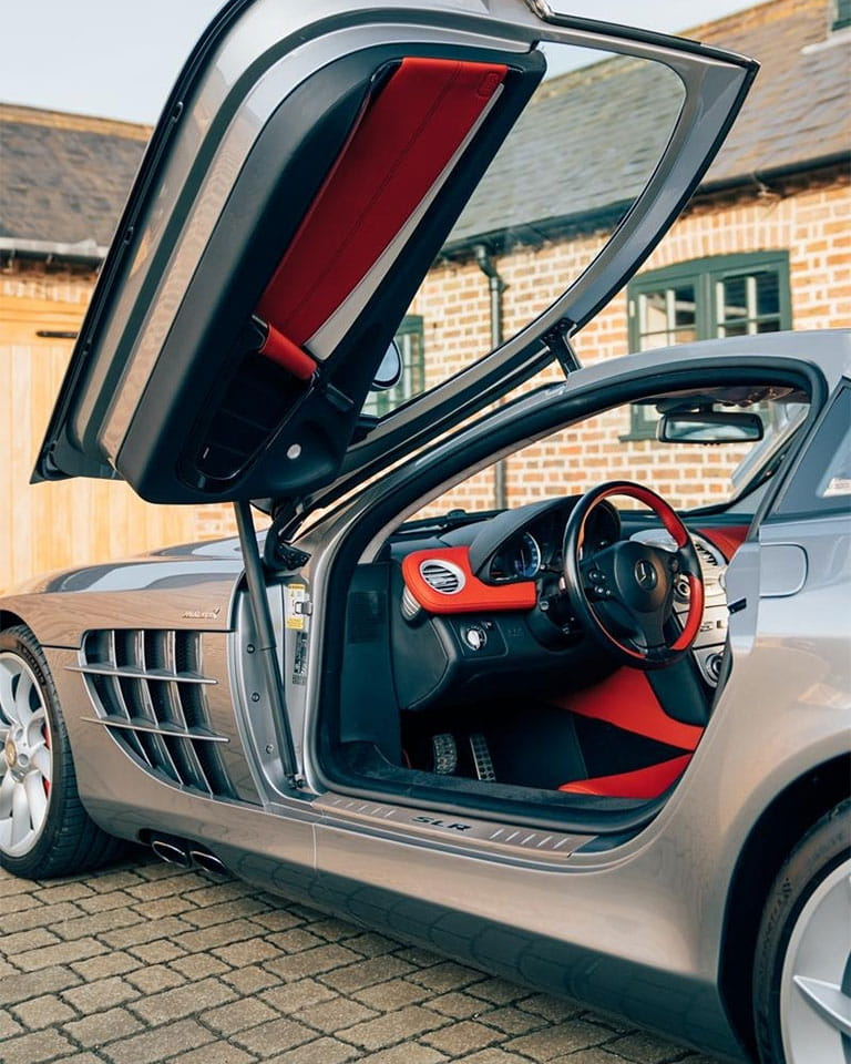 When two iconic names in the Motorsport industry meet, machines like SLR are born.