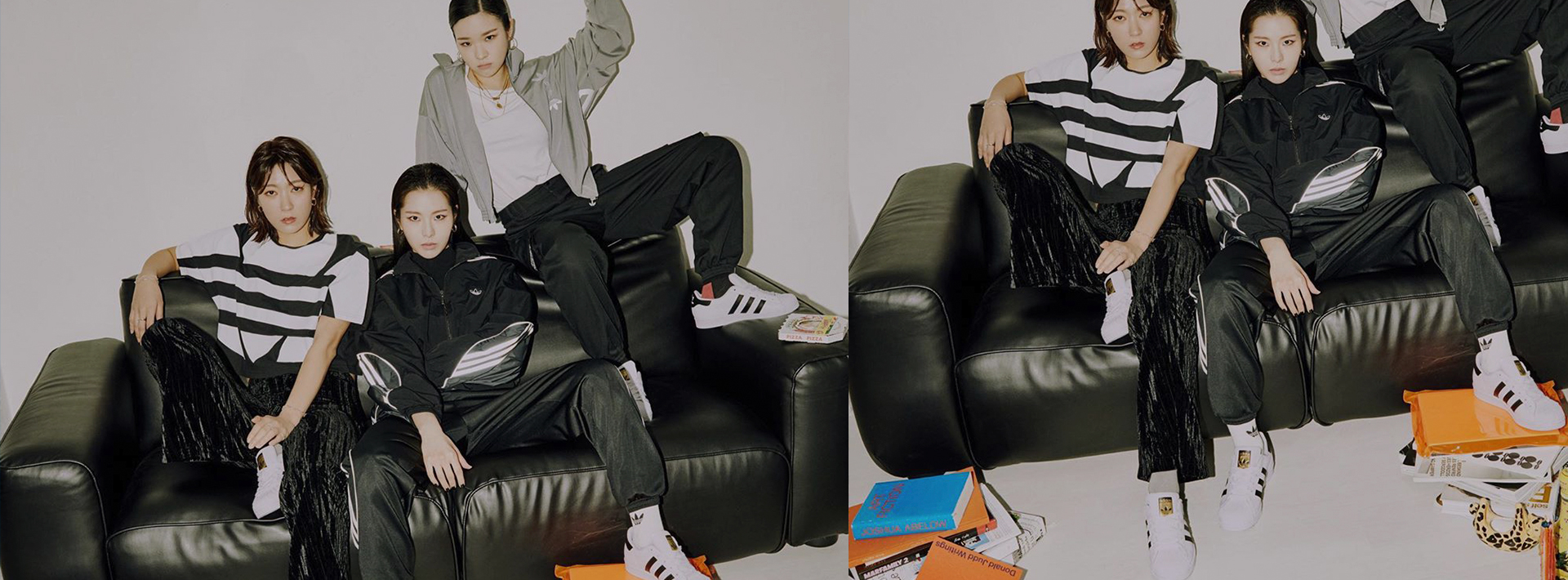 Feet on your fave leather sofa is necessary sometimes.