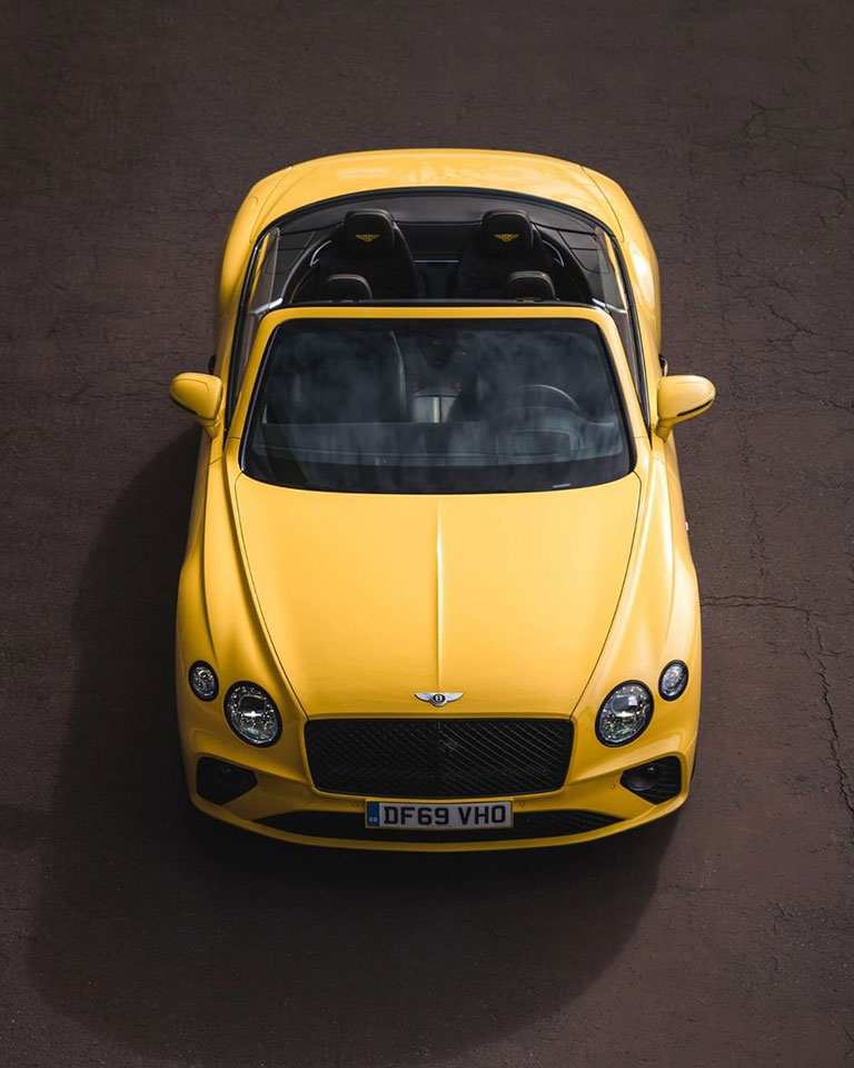 New Bentley Continental GT V8 Convertible is elegant and as fresh as summertime lemons.