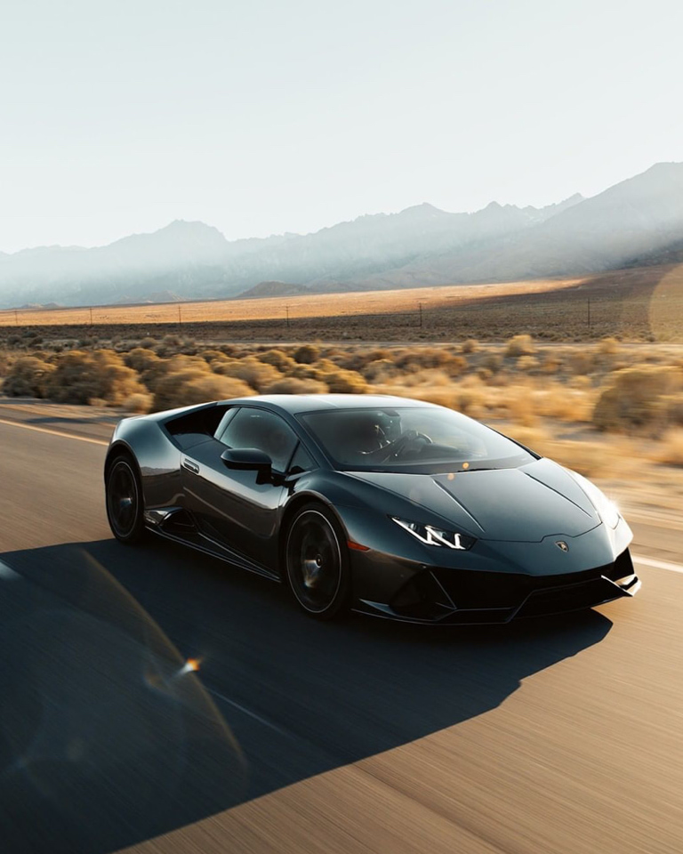 A refresh of Lamborghini's starter supercar brought by the Huracán EVO.