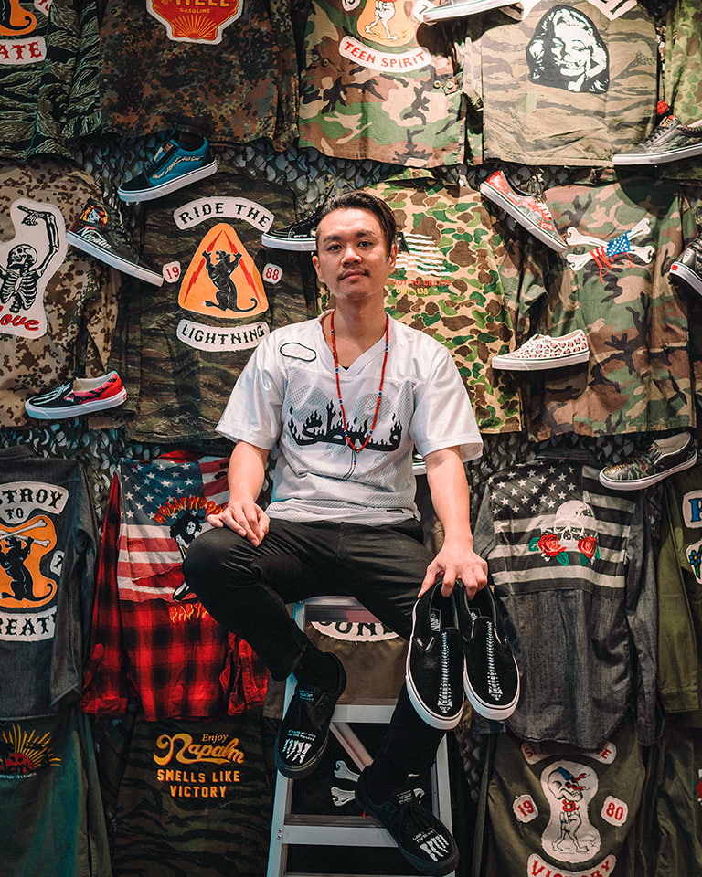 Mr. Sabotage makes custom-made history by valuing sneaker culture's most legendary stories.