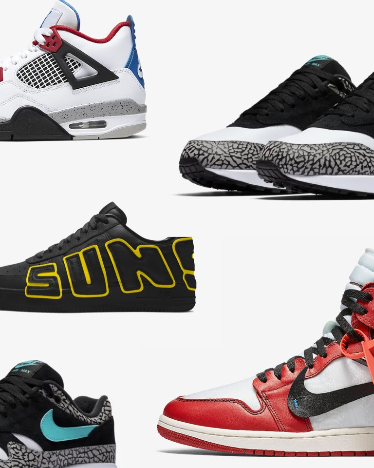 Nike & AJ's fanatic territory: the TOP 5 SNEAKERS list of Kevin Concepts is here.