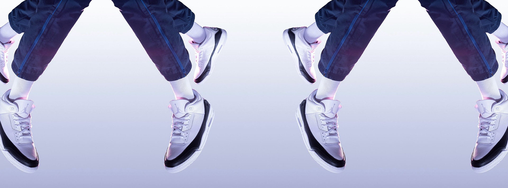 Two Hiroshi Fujiwara's fragment design x Air Jordan are releasing today.