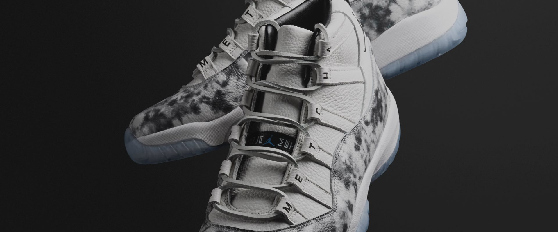 The AJ XI Concord by METCHA x The Shoe Surgeon is the 1st Air Jordan XI Concord custom design ever. & it can be yours.