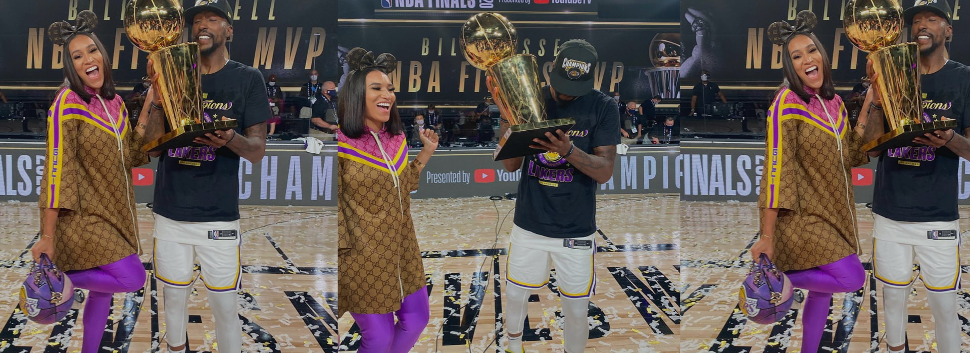 LA Lakers won the NBA Finals but who won the couple goals this season?
