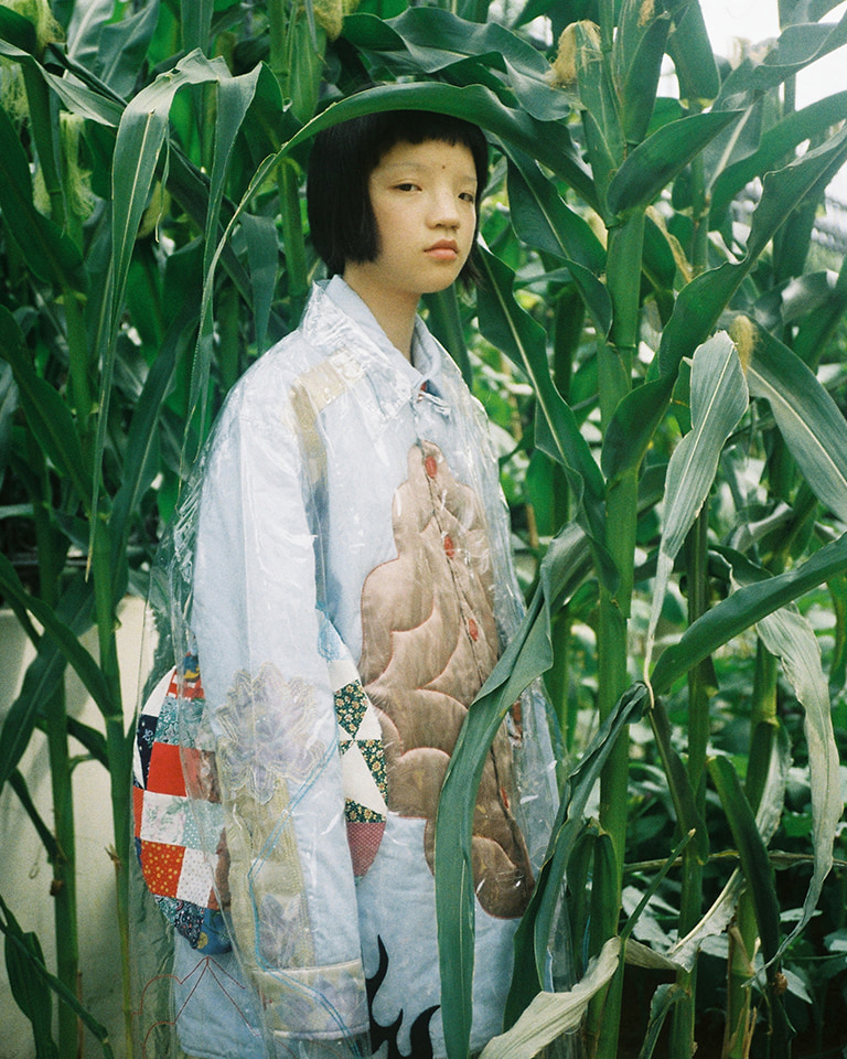 Designer Xiang Gao in exclusive 'bout how she turns collage style into wearable art for Penultimate.