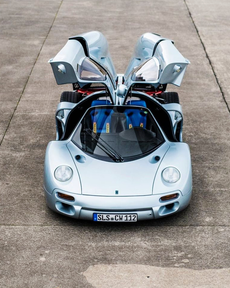 The single produced model of this '90s hypercar is set to go to auction at Sotheby's Paris.