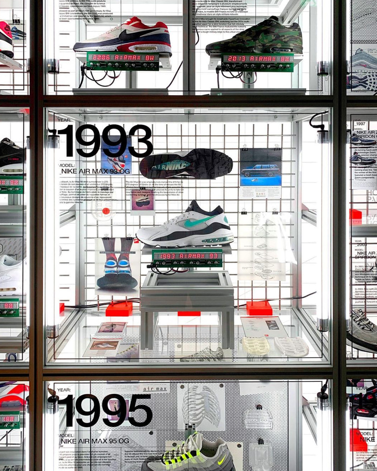 Nike Air Innovation Timeline shows how the brand's sustainable moves have always been there.