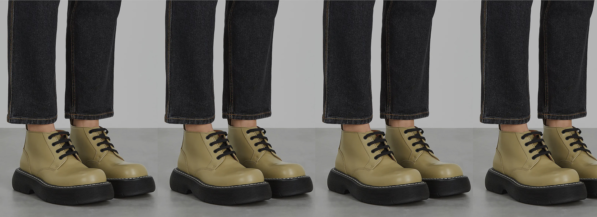 Daniel Lee's Bottega Veneta makes it big with the new FW20 Chunky Leather Boots.