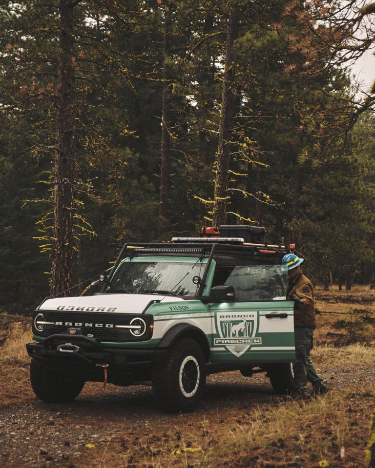 A passion for the outdoors revamps the Ford Bronco for the sake of our forests.