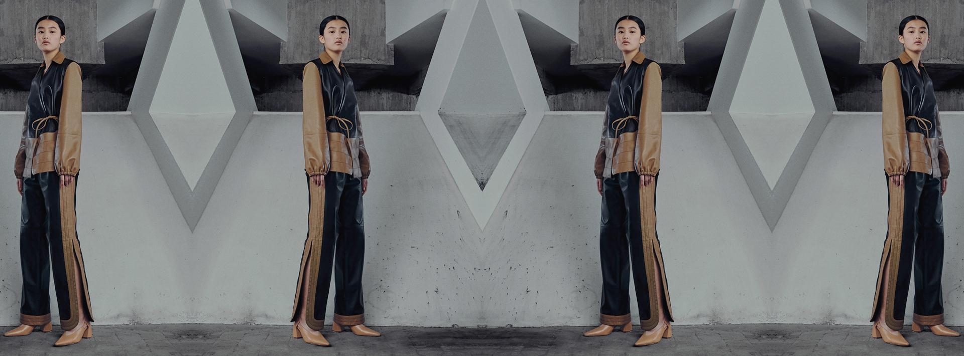 How Kirin expresses Peggy Gou's energy thru experimental designs on premium leather silhouettes.