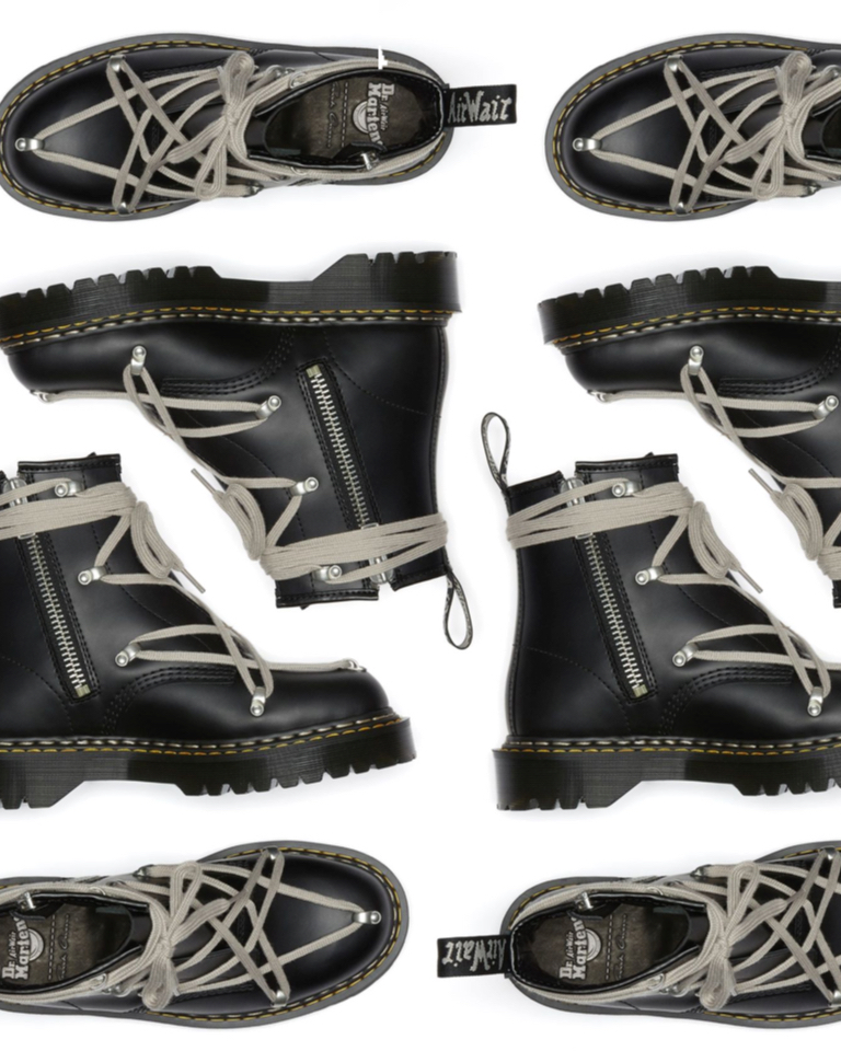 Rick Owens and Dr. Martens launch a grunge 1460 Bex.