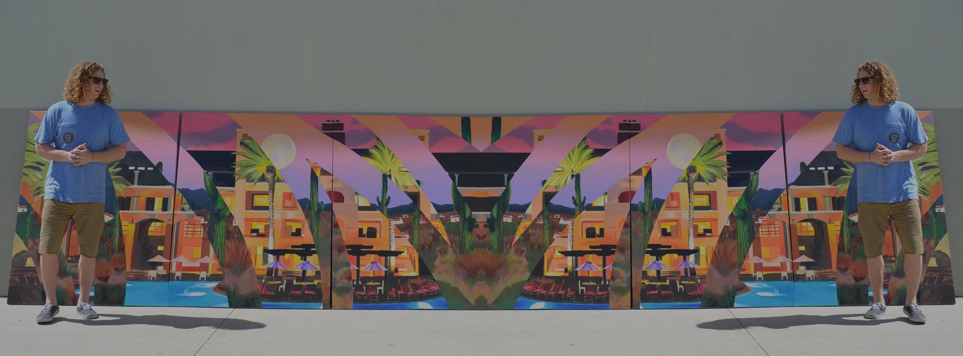 METCHAMixtape \ Blake Barash. The soundtrack behind Barash's uniquely painted snkrs.