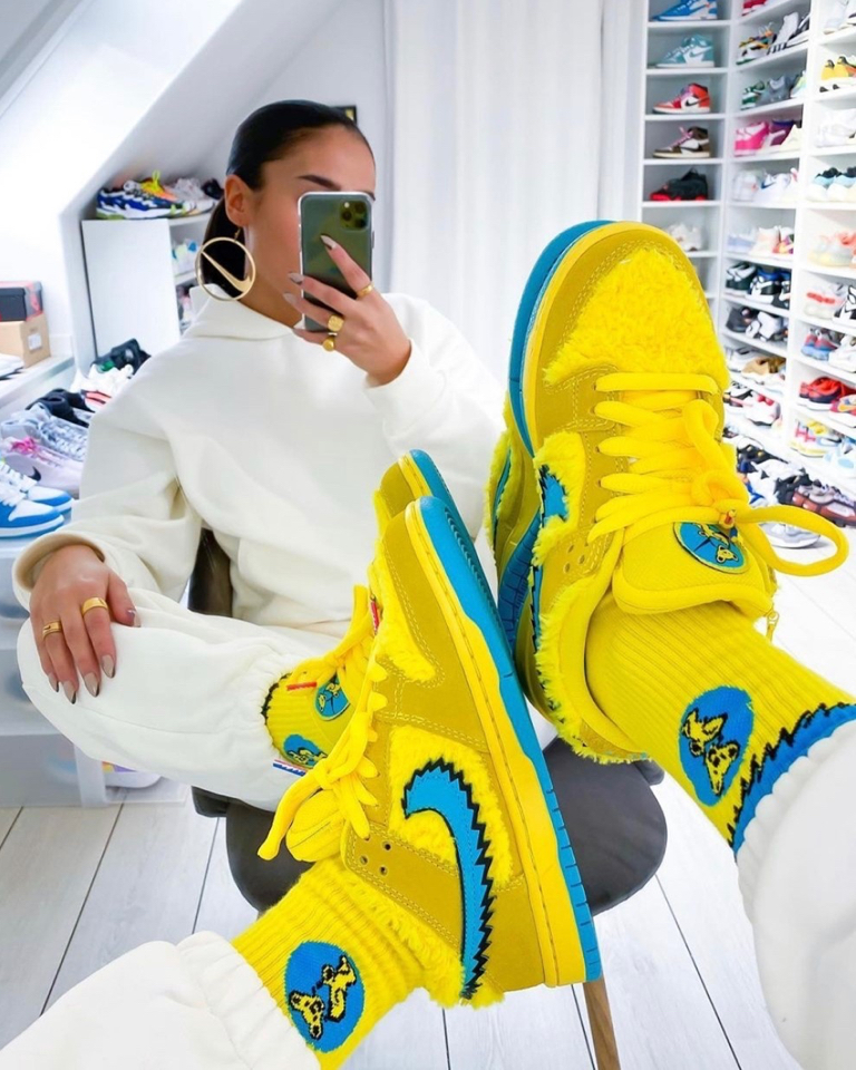 Sneakers made Sally Javadi discover her creative side and become @sallyssneakers.