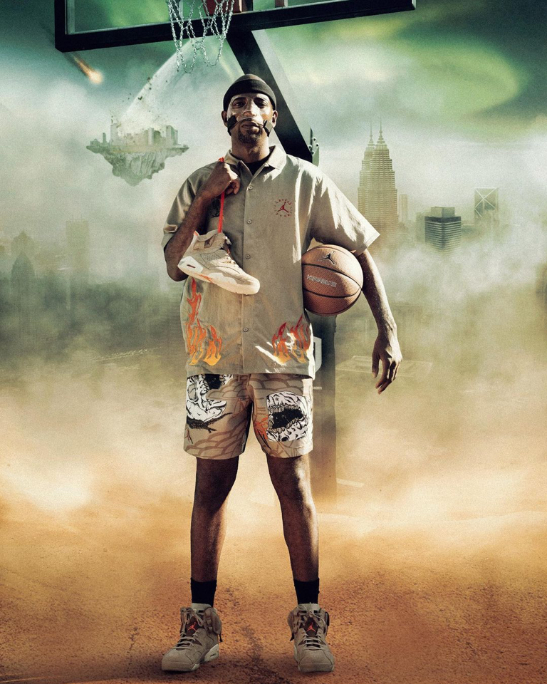 Details on the campaign for the new release staring NBA legend Rip Hamilton.