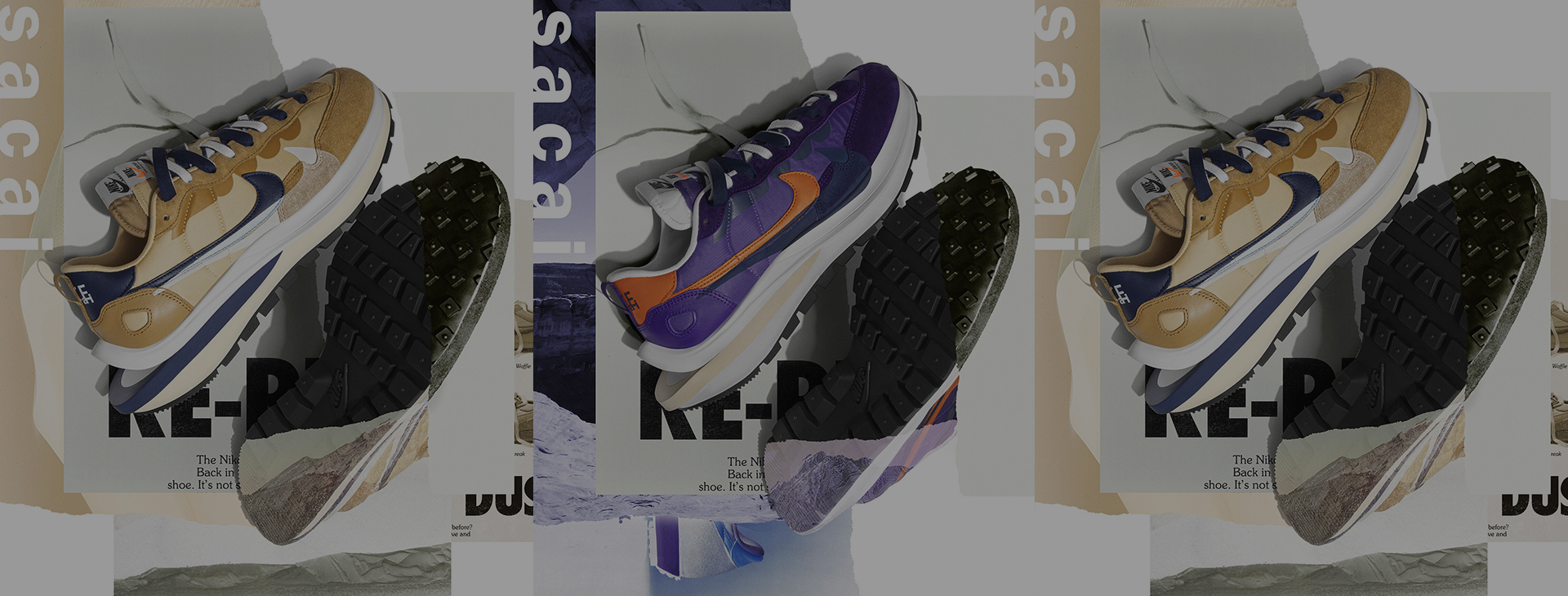 Dark Iris or Sesame? Everything about the Nike x Sacai collab will make you wake up early.