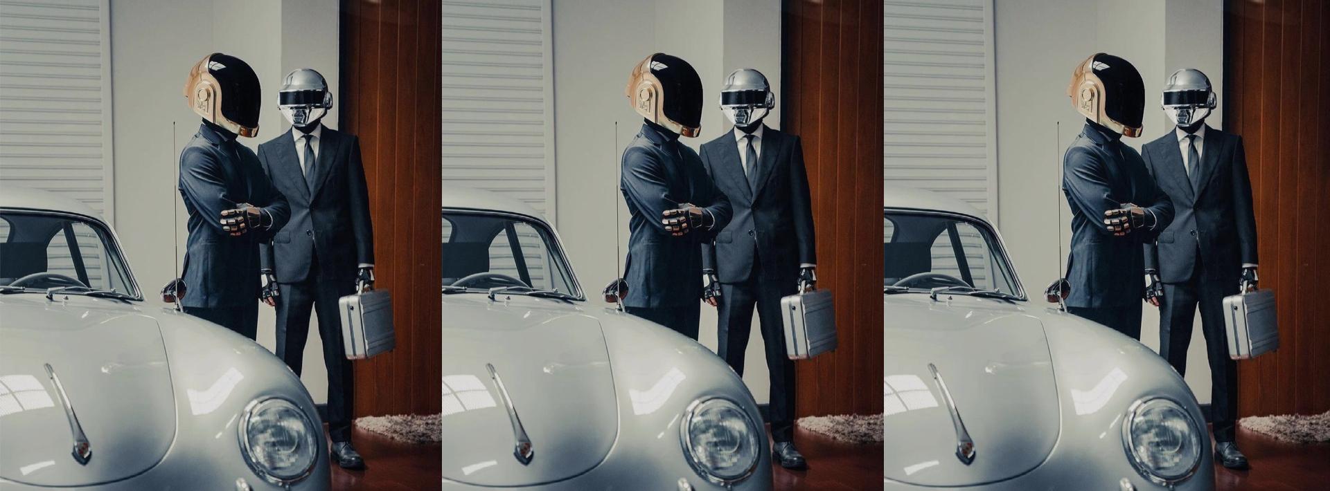 🤖 Random access memories: Daft Punk tribute shot by Calvin Courjon in Bangkok.