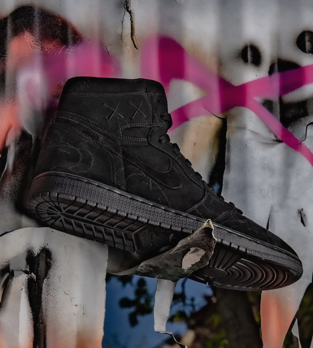 Johnnyskicks x Reverse Land are changing the world of footwear one pair of Kaws AJ at a time.