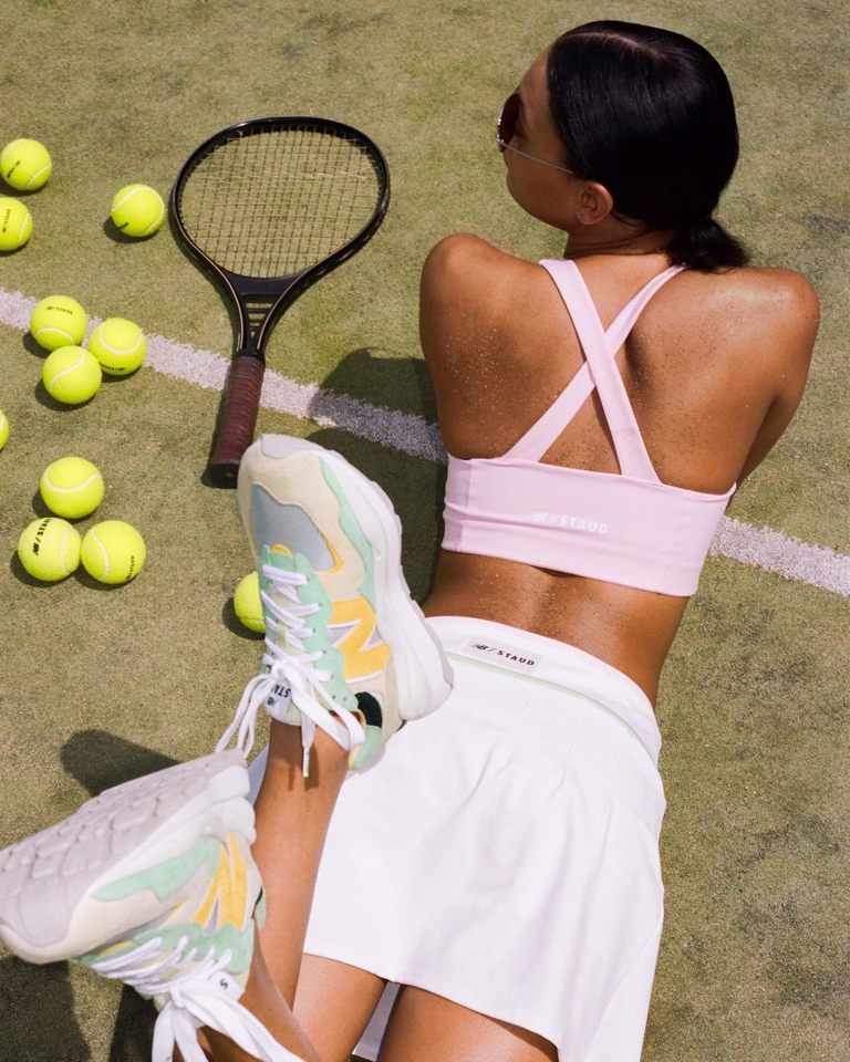 """The drops got a Tenniscore and boxing inspiration in a """"journey of personal fitness."""""""