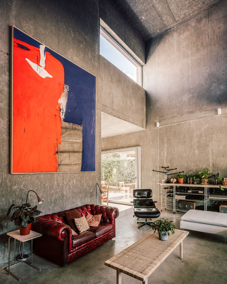 The visionary brutalism of a Madrid house shows that concrete can be welcoming.