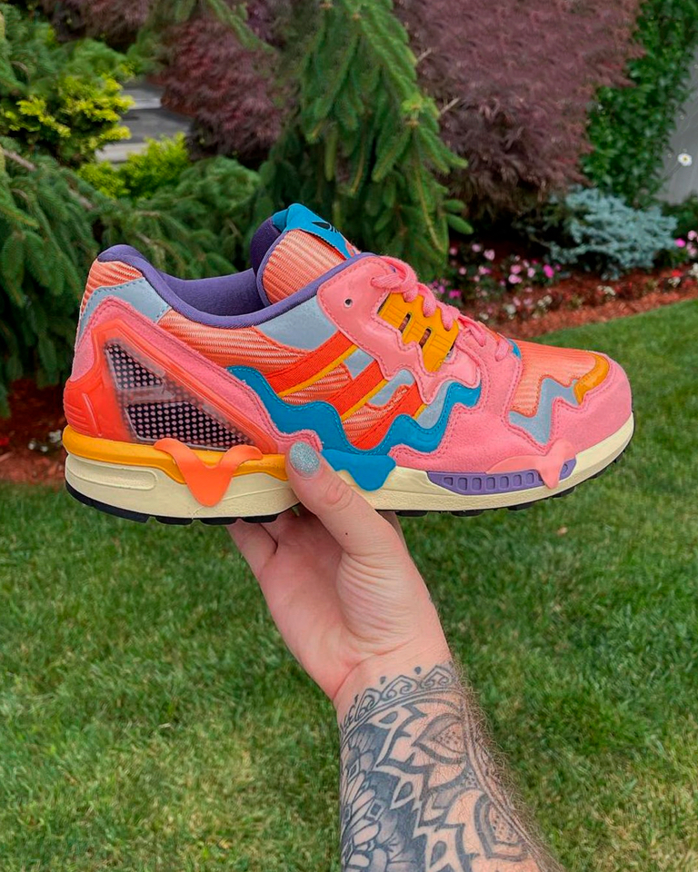 They're working on flavorful sneakers like ZX 8000 Ice Cream.