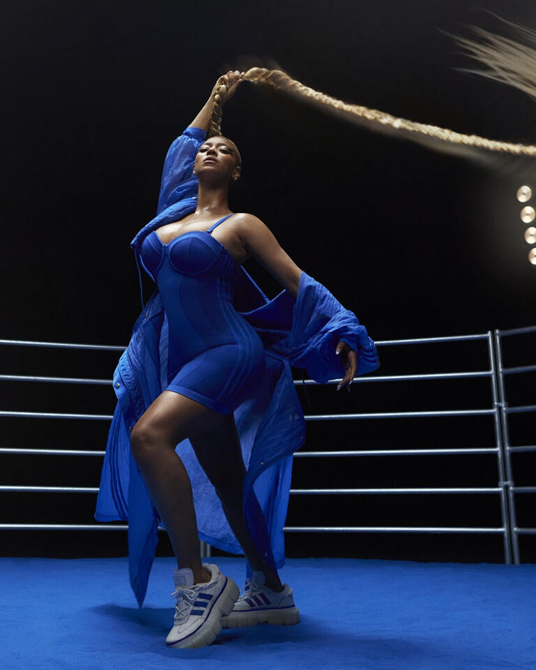 ICYMI, Queen B needs you to hold on tight to check her new adidas collection and its sporty twist on classic Western.