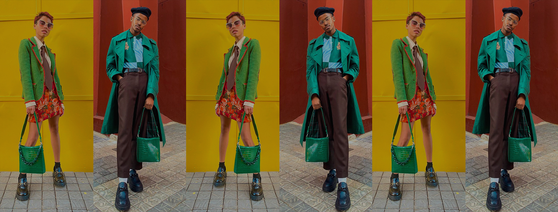Owners of Only Thrift, creatives Leago Scars and Nadine share leather drips and the desire to raise consumer awareness.