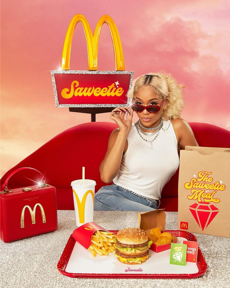 The newest McDonald's contest gives the fans a chance to win Brandon Blackwood's handbags.