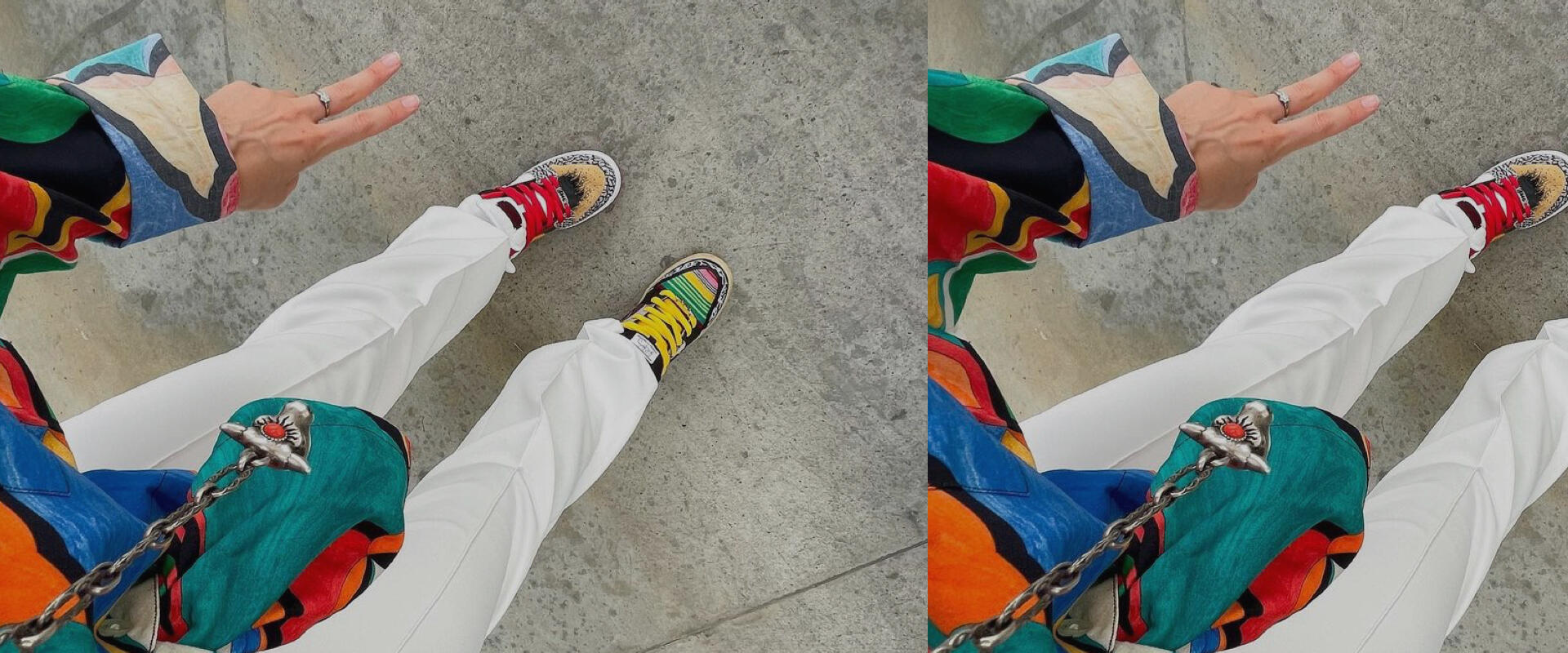 This Instagram creative owns more sneakers than we can count but she seems to love them all