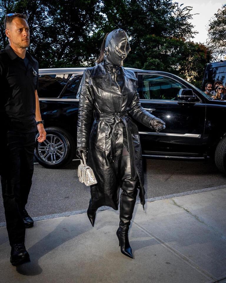 Kim K seems to be taking a bolder approach to fashion.