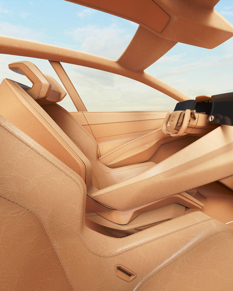 Find how Lexus teamed up with leather creatives to reimagine the vehicle's interior to go with cutting-edge technology.
