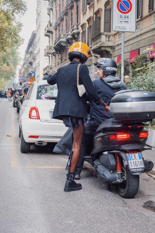 Milan Fashion Week  - Dolce Gabbana fashion show - Leather Boots