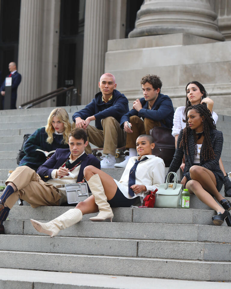 Social media style references, leather boots everywhere, and a diverse cast: is that enough?