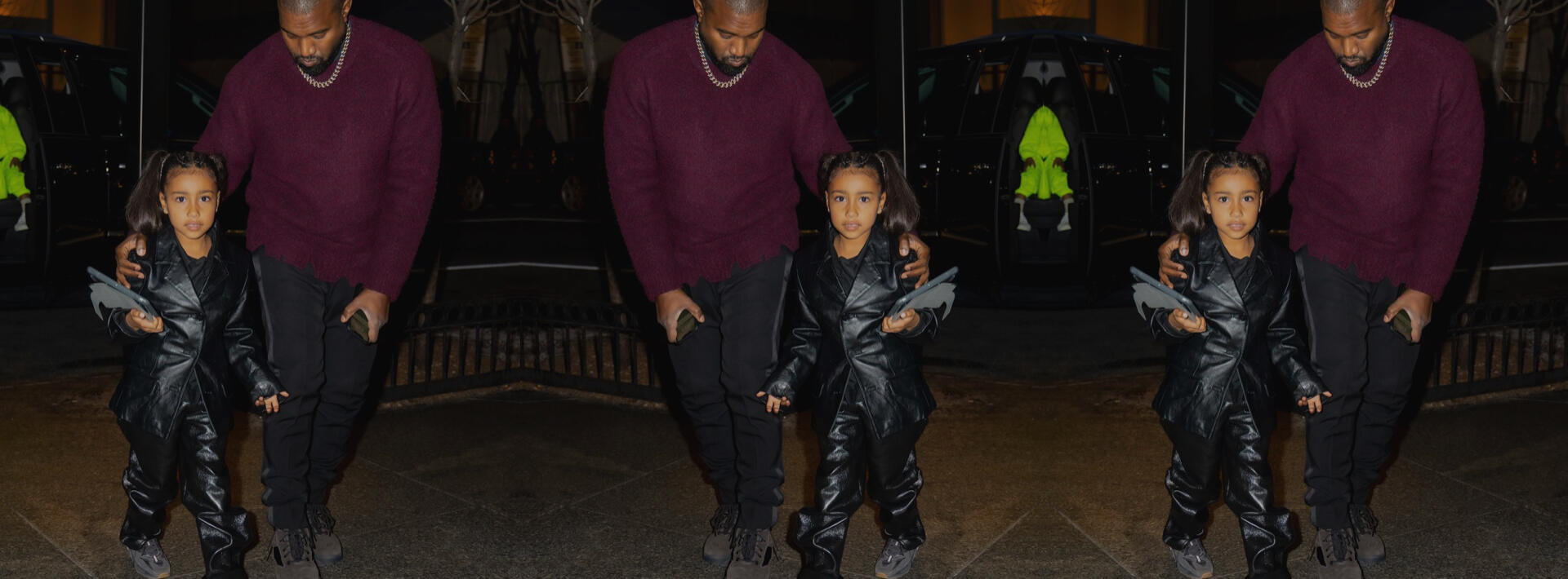 Her style is definitely a legacy of both Kim's and Kanye's.
