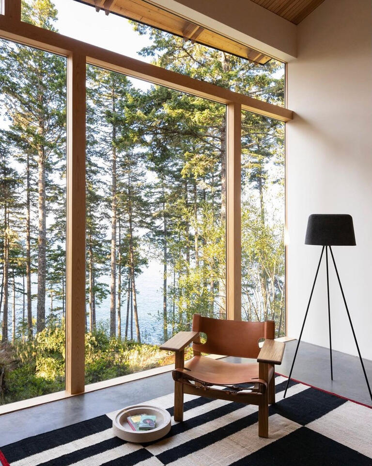 Inspired by the Campos Studio cabin, we've put together a list of our favorite places and interiors for seclusion.