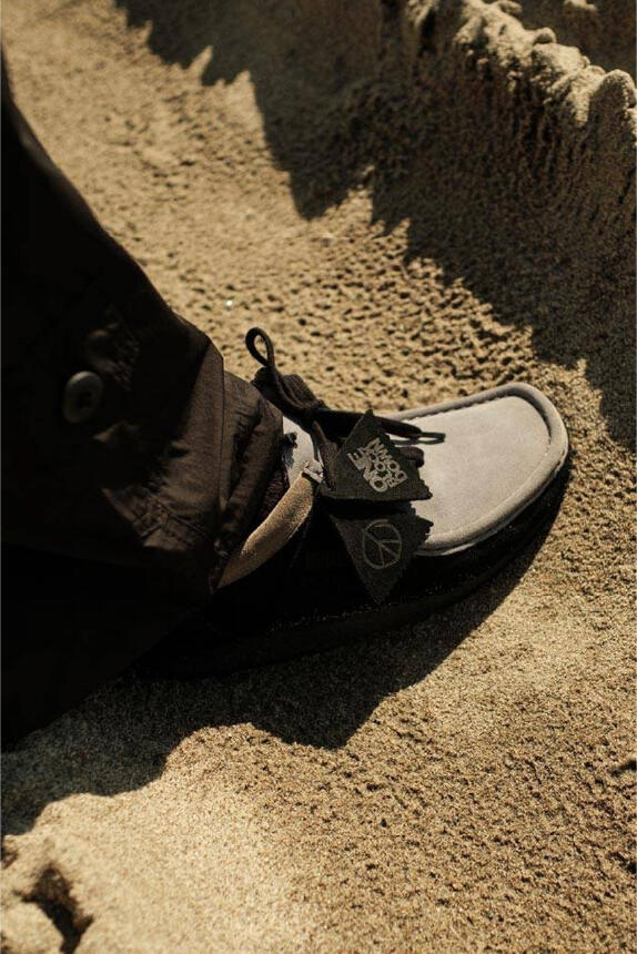METCHA - Clarks' suede craftsmanship - Clarks' suede shoes.